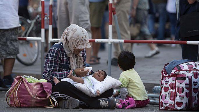 Macédoine : un tiers des migrants sont des femmes et des enfants