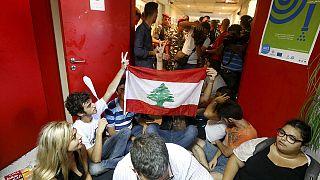 Бейрут: полиция с применением силы вытеснила демонстрантов из здания министерства