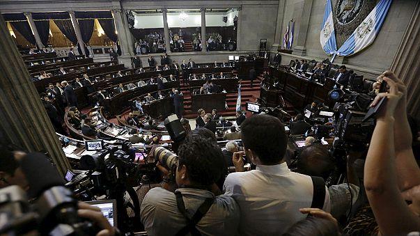 Guatemalan congress votes to strip president of immunity