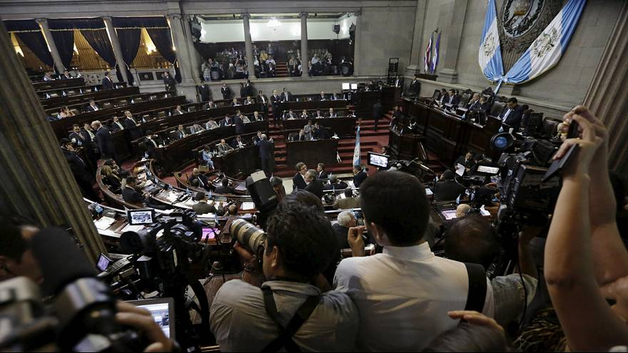 Guatemalan congress votes to strip president of immunity