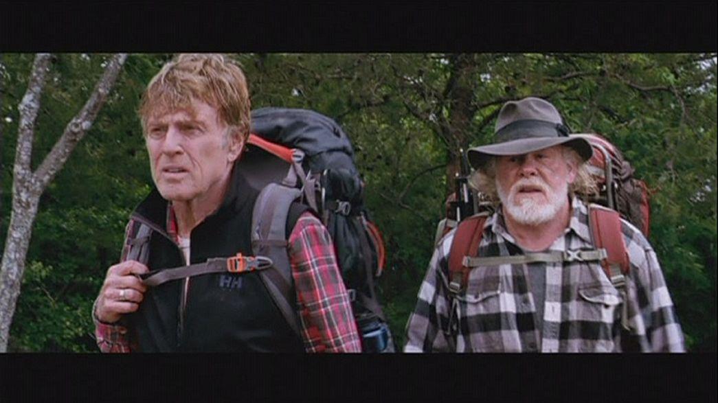Robert Redford picknickt mit Bären