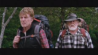"Robert Redford randonneur dans ""A walk in the woods"""