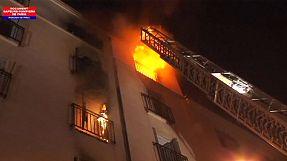 مقتل 8 أشخاص من بينهم طفلان في حريق شمال باريس