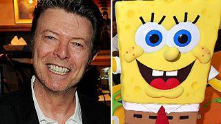 Ο David Bowie γράφει μουσική για τον... Μπομπ Σφουγγαράκη!