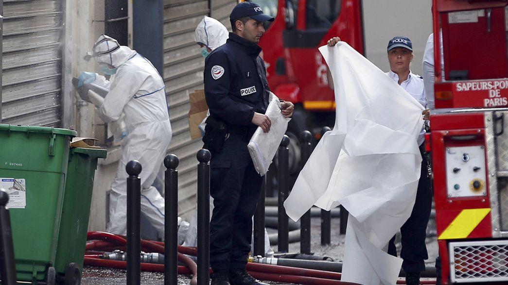 Suspect arrested after Paris fire kills 8 people including 2 children