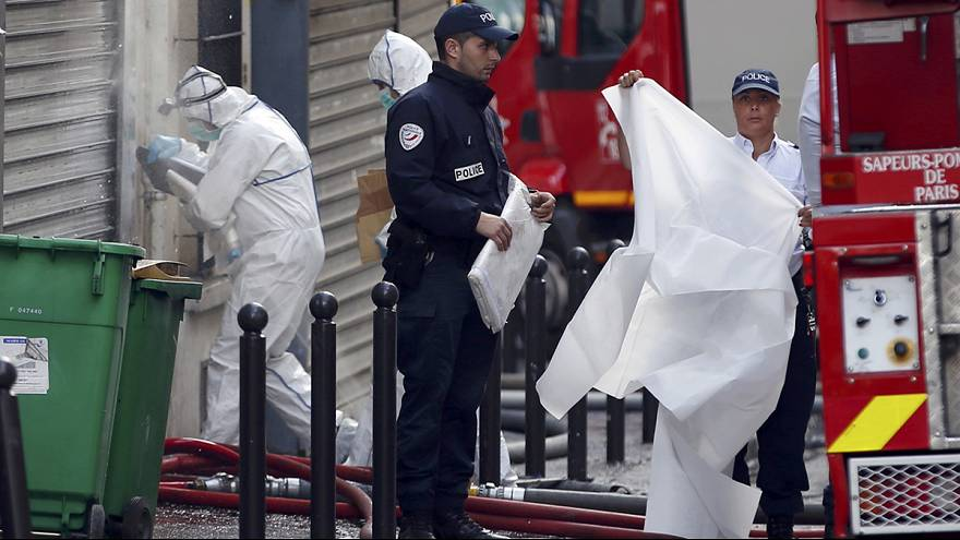 La Policía detiene a un sospechoso de causar un incendio mortal en París