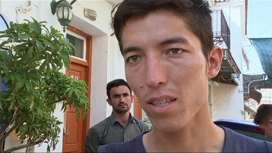 Mülteci Abdullah babasının kaderini paylaşıyor