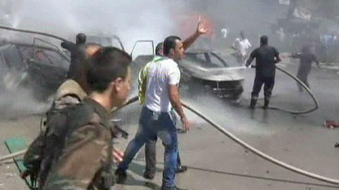 """عشرة قتلى بانفجار سيارة ملغّمة في اللاذقية.. معقل """"الأسد"""""""
