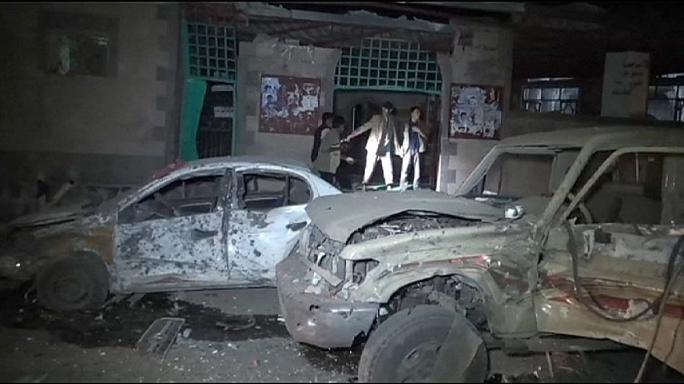 Yemen'de Husilere ait camiye çifte saldırı