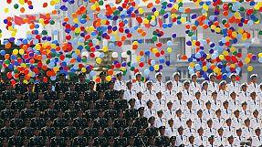 Militärparade in Peking: China verkleinert Truppen