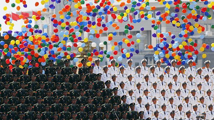 استعراض عسكري ضخم للصين في الذكرى السبعين لاستسلام اليابان