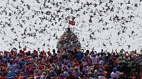 China celebrates the end of World War II