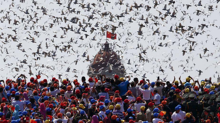 La Chine célèbre en grande pompe les 70 ans de la fin de la Seconde Guerre Mondiale