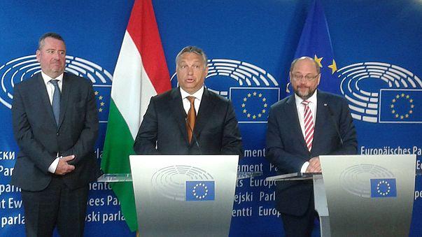 """Orbán: """"Ne jöjjenek ide!"""""""