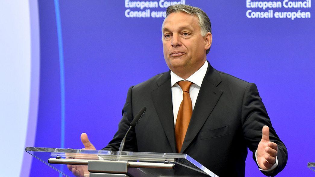 "Viktor Orbán: Flüchtlingsproblem ist ""deutsches Problem"""