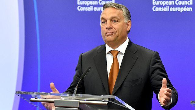 """Viktor Orban sur la crise des migrants : """"la Hongrie fait son devoir"""""""