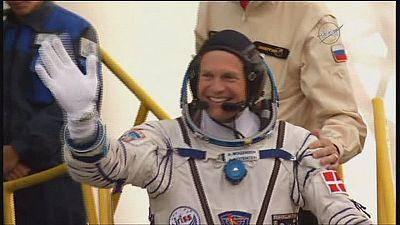 Il danese Andreas Mogensen in orbita