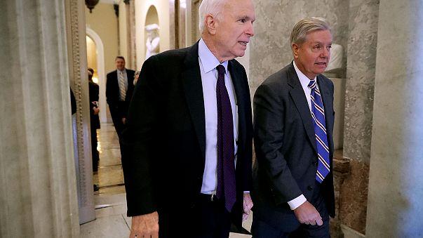Image: U.S. Sen. John McCain (R-AZ) and Sen. Lindsey Graham (R-SC)
