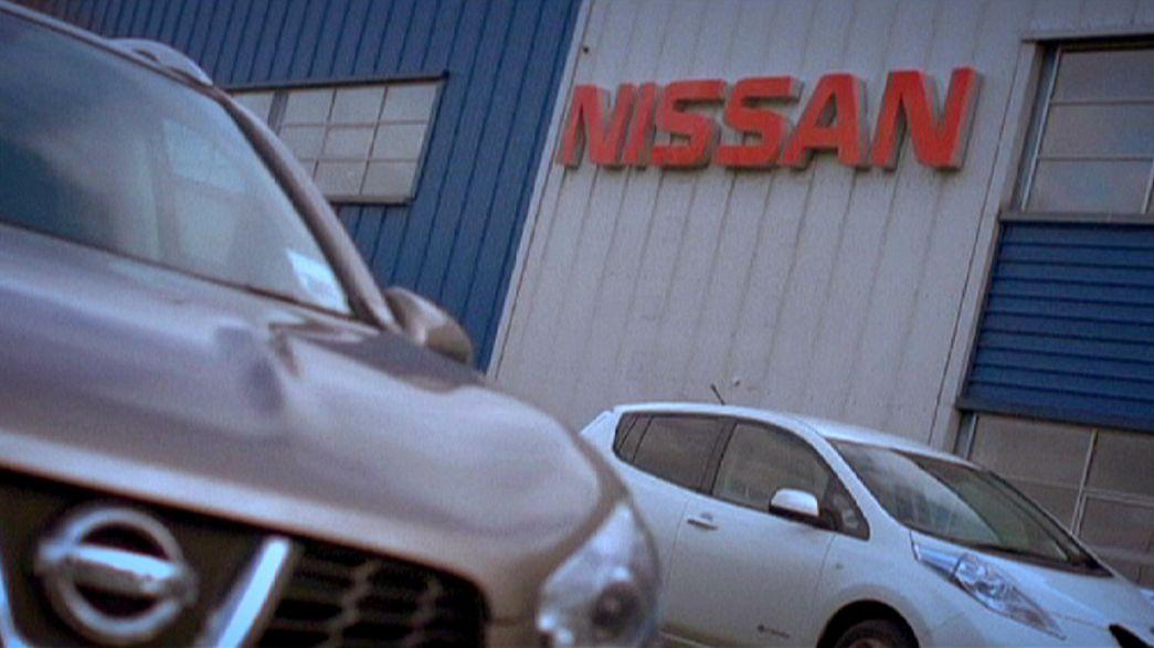 Nissan investirà 100 milioni di sterline in Gran Bretagna