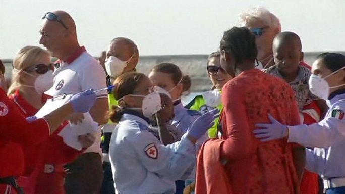 Italie : 780 migrants débarquent en Sardaigne