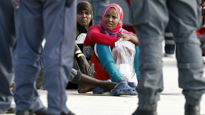 ЕС сообщает о росте притока мигрантов