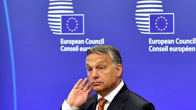 Orbán német vízumot javasolt a nálunk rekedt menekülteknek