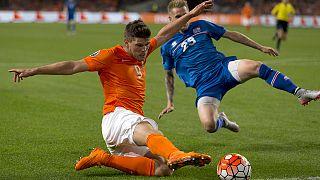 Евро-2016: Исландия в гостях одолела Голландию
