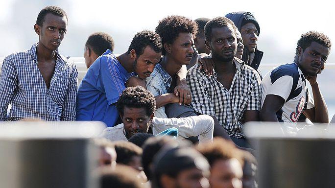 Göçmen krizi: İtalya'da iki gözaltı