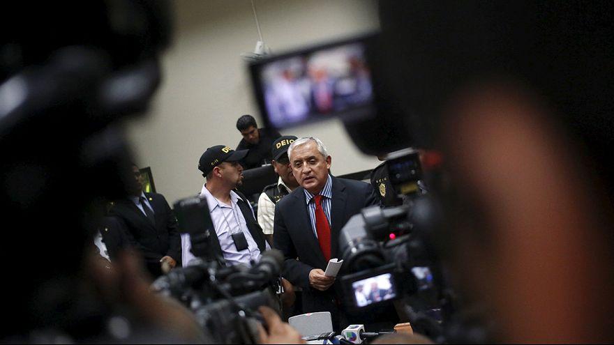 Katonai központban tartják fogva a volt guatemalai elnököt