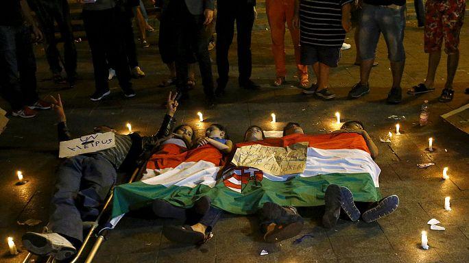 Migrants : l'impasse la nuit dernière à Bicske et en Hongrie