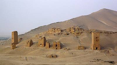 ISIL militants blow up Palmyra's ancient tower tombs