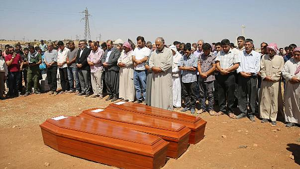 Flüchtlingsjunge Ailan in Kobane beigesetzt