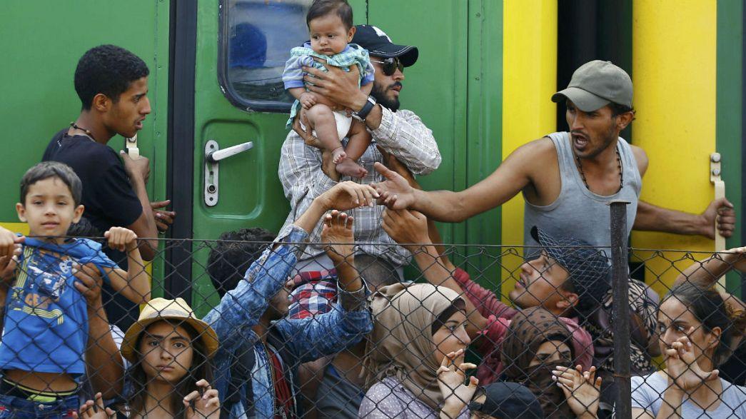 La crisis de refugiados domina la actualidad de la semana