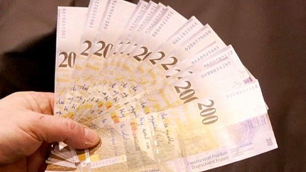 Suiza registra una inflación negativa del 1,4%, la más baja desde 1959