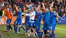 Euro 2016: gioia Islanda, festa pazza negli spogliatoi