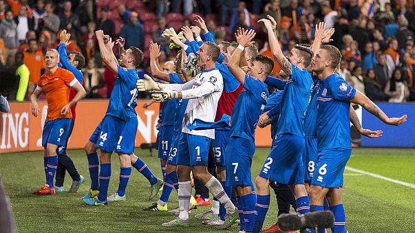 İzlanda'yı Hollanda da tutamadı