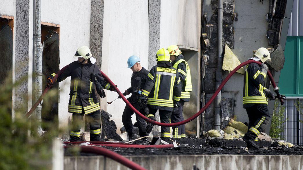 Germania: incendio in un un centro accoglienza immigrati ad Heppenheim. 4 i feriti