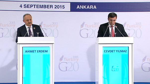 Küresel ekonomi Ankara'da tartışılıyor