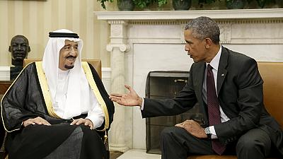 Iran and Yemen top agenda as Saudi king meets Obama