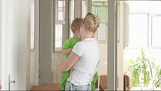 Dos niños ucranianos sufren parálisis como consecuencia de un brote de polio