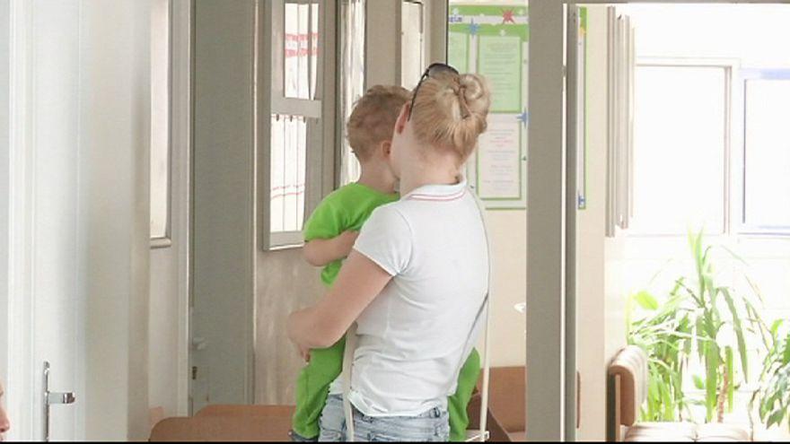 Ucrânia: UNICEF lança campanha de vacinação para travar casos de pólio