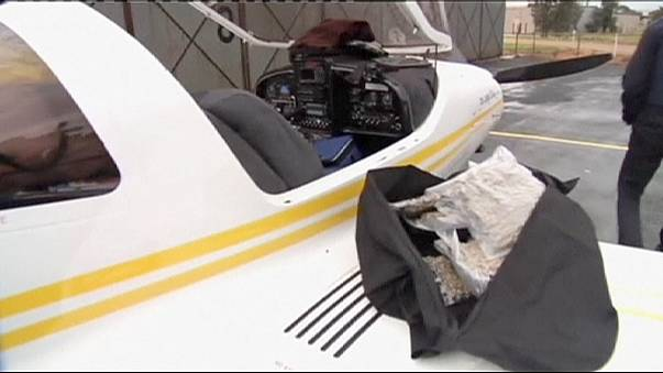Australian police seize light aircraft - and 45kg of cannabis