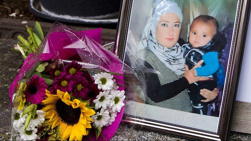 Entierro de Aylan junto a su hermano en Kobani