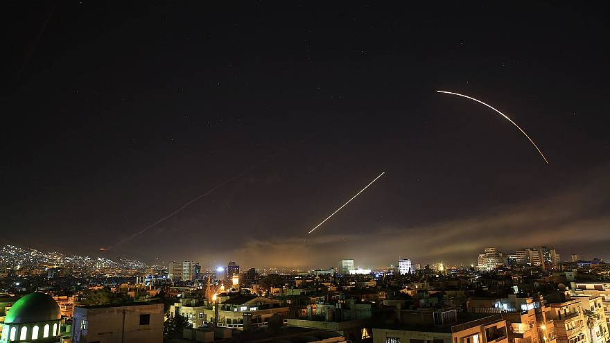 Image: Syria strikes