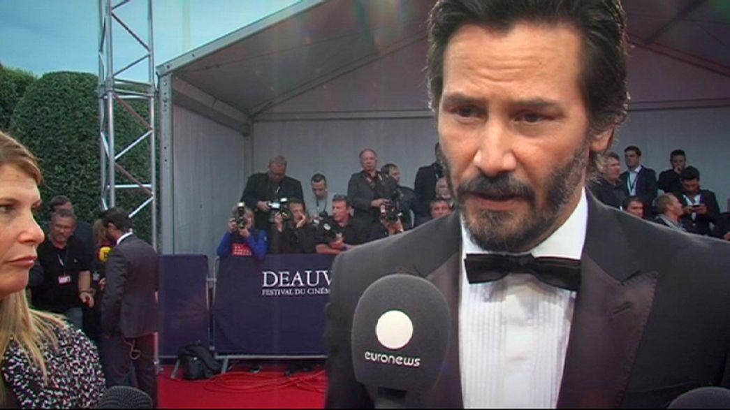 La 41 edición del festival de cine de Deauville sube el telón con Keanu Reeves como protagonista