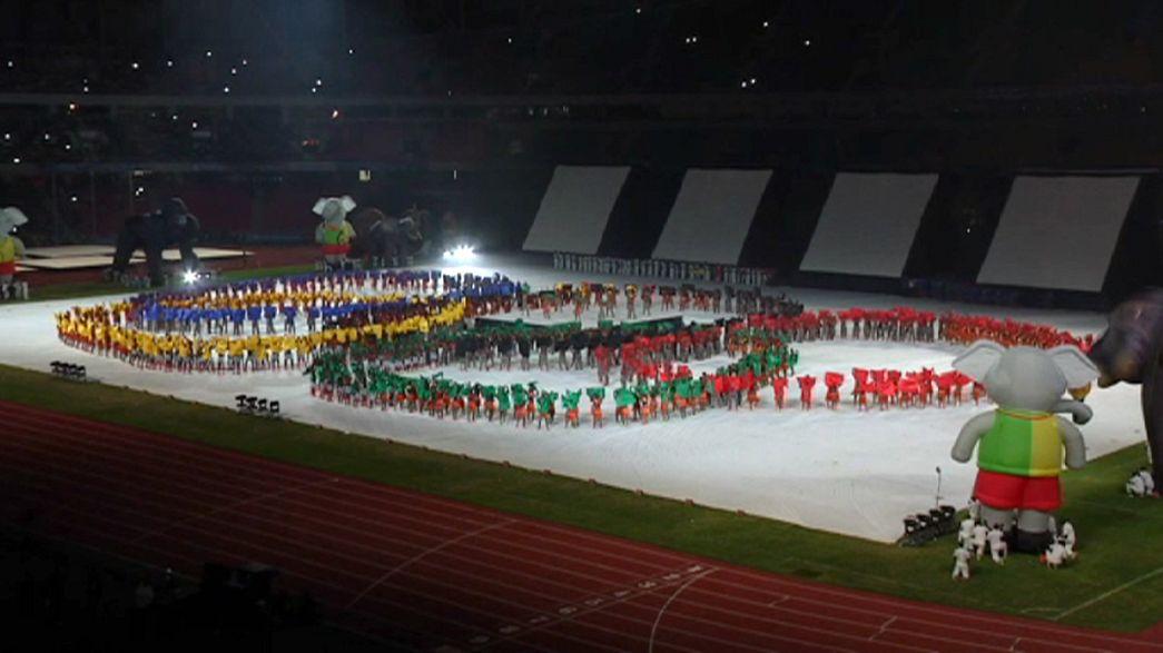 Espectacular ceremonia de apertura de los Juegos Africanos 2015