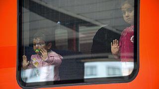 Munique recebe primeiros refugiados sírios