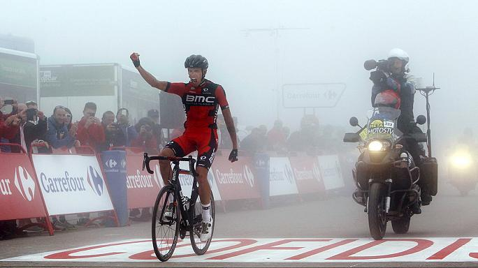 Vuelta - Aru előnye csökkent és nőtt