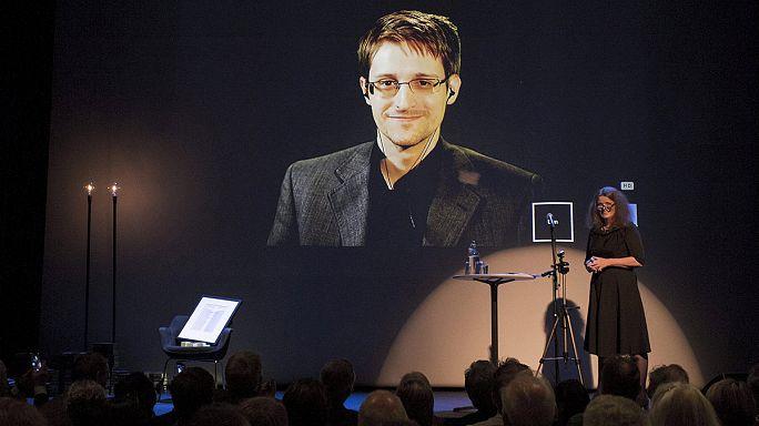 Kitüntették Edward Snowdent Norvégiában is