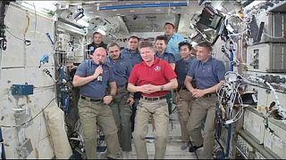 Νέα πρόσωπα στον ISS